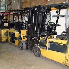 "CATERPILLAR EP20KT Sit Down Electric FORKLIFT 36V Side Shift Tilt 81"" / 240"""