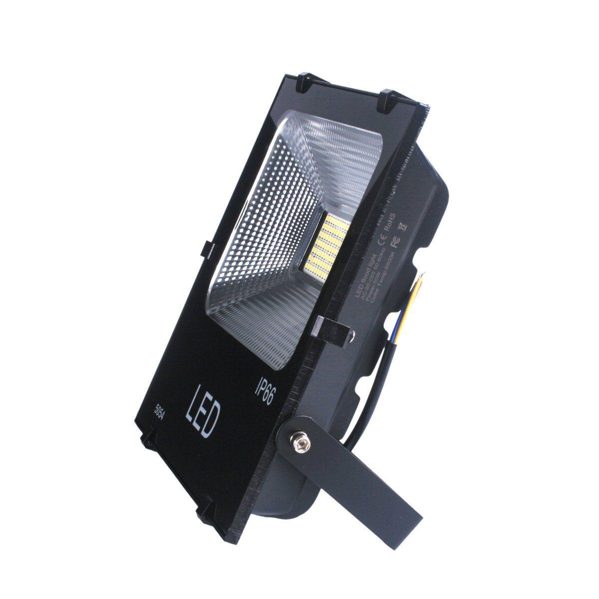 6 Einheiten 50W Уличный светодиодный Flutlicht IP66 hoher Wirkungsgrad (Neu)