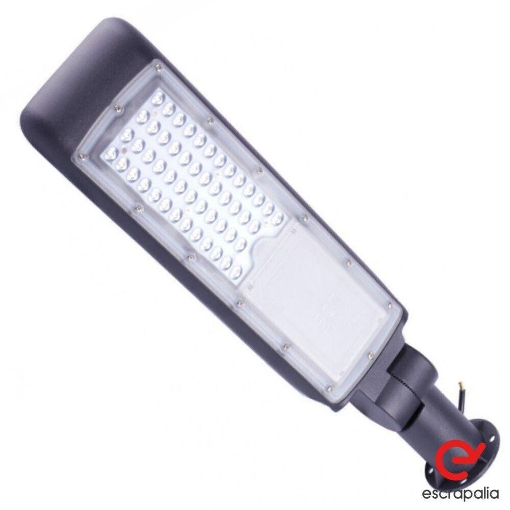 3 Einheiten Gelenk-LED-Straßenlaterne 50W, 5000Lum, Fro White