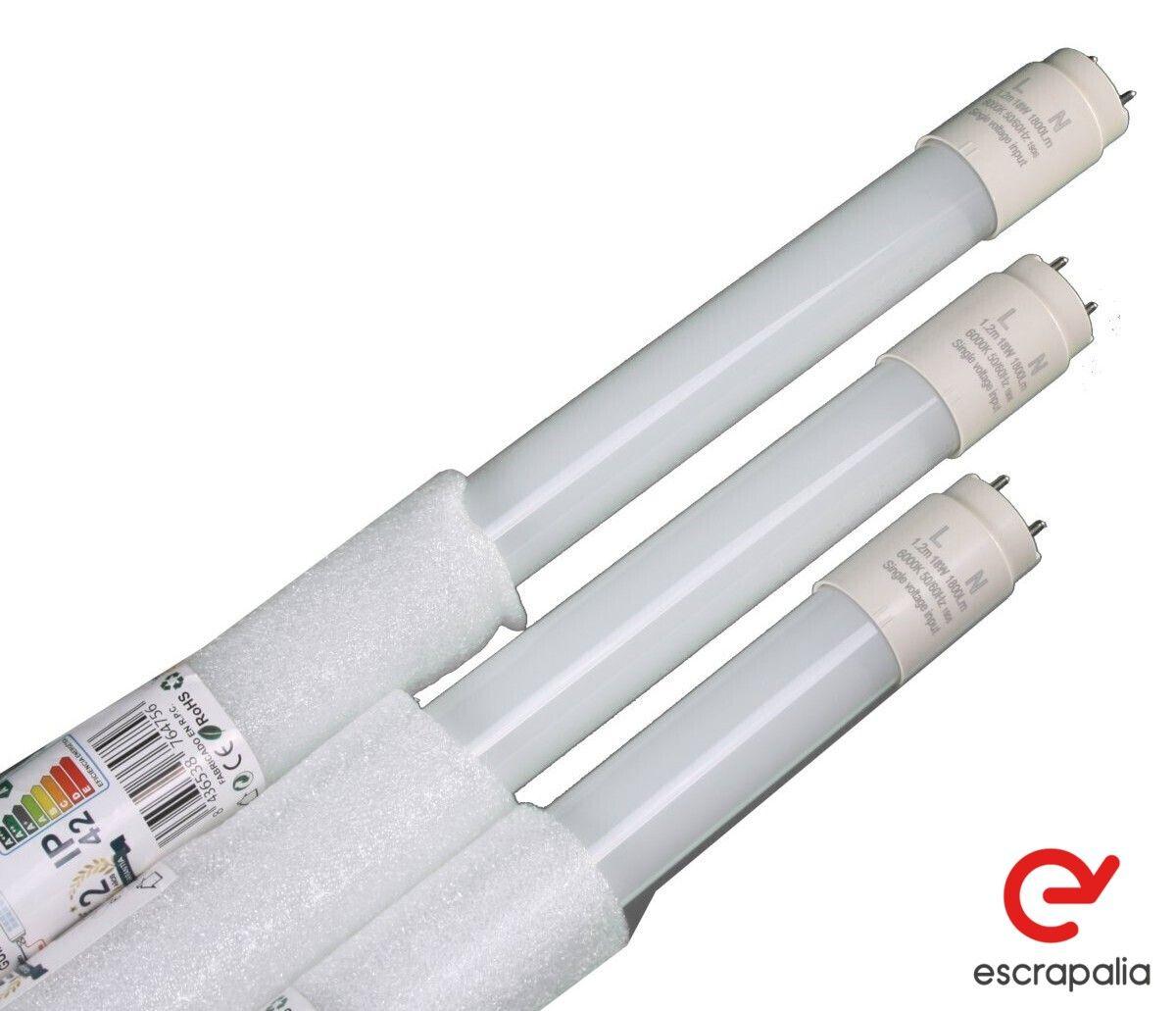 20 Einheiten T8 LED Tube Glasabdeckung 120cm 18W kaltweiß (neu)