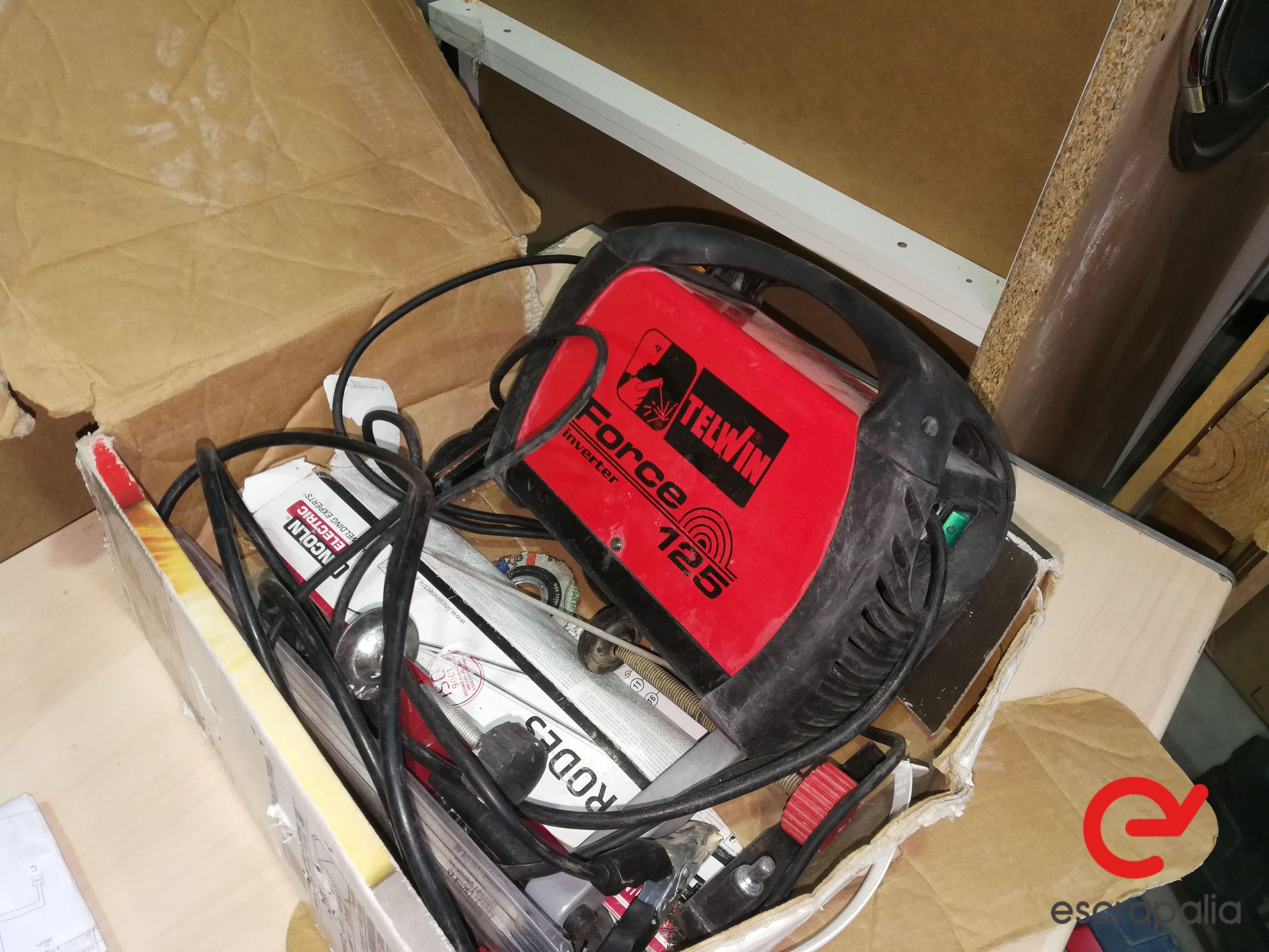 Inverter-Schweißgerät Telwin force 125. Los 031