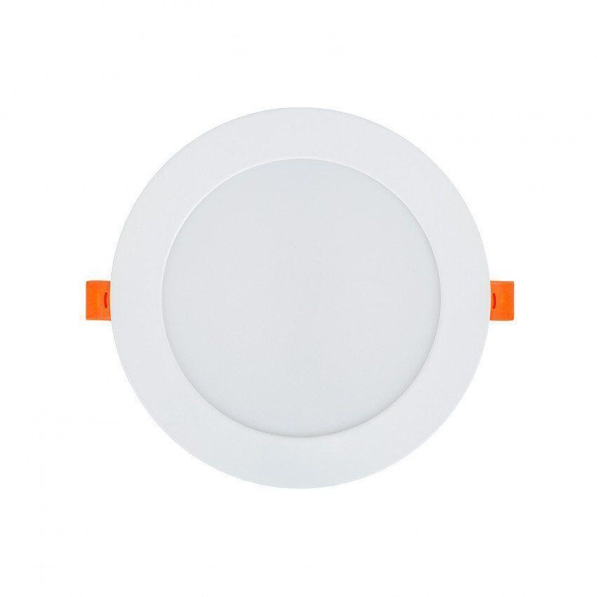 10 Einheiten LED-панель 12W, круглая, очень плоская (Neu)