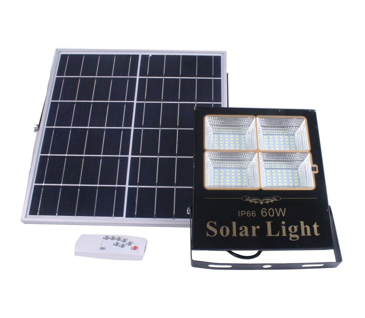 Солнечная светодиодная панель мощностью 60 Вт с универсальной панелью (neu)