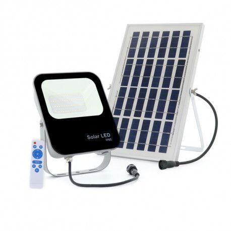 Светодиодный проектор мощностью 30 Вт с солнечной панелью и Fernbedienung (новый)