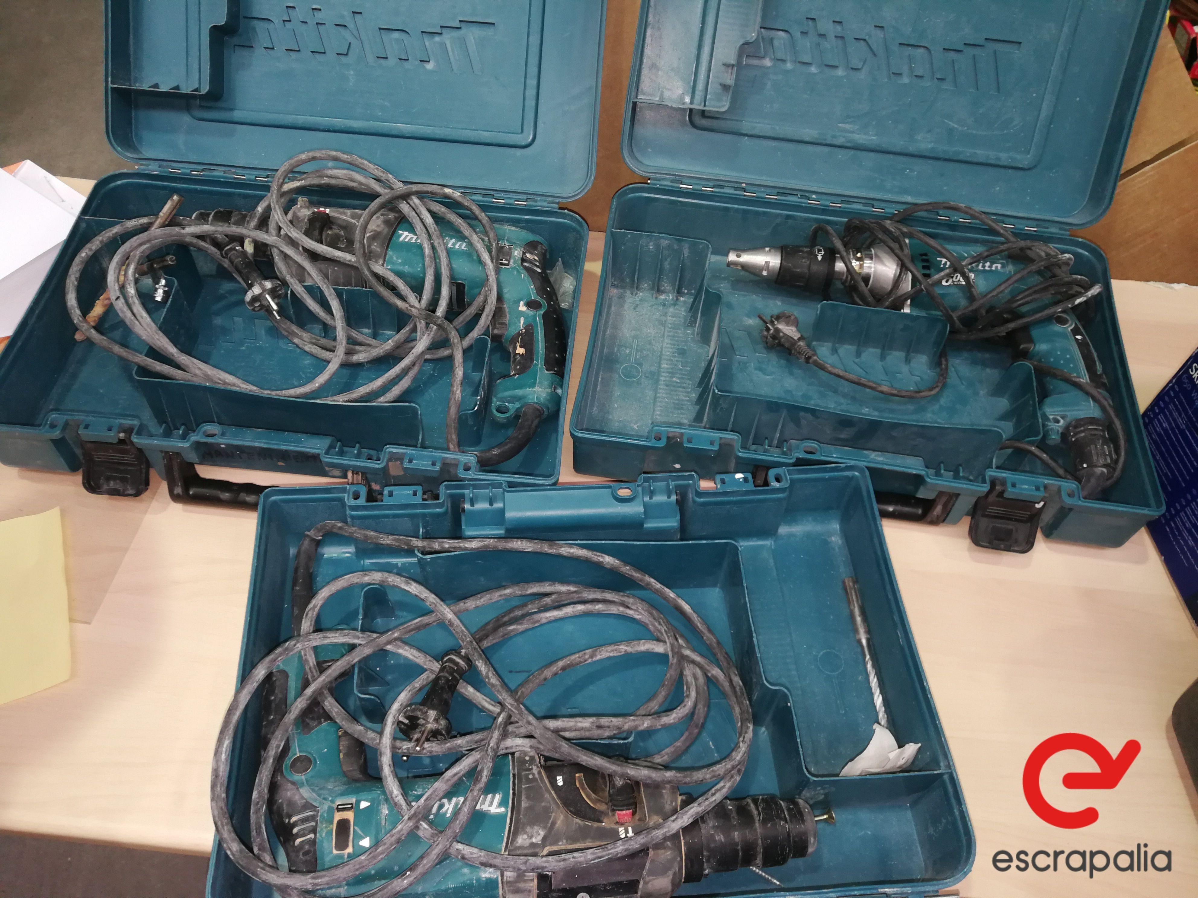 3 Lichthämmer 22 mm Makita Modell HR2230. Los 025