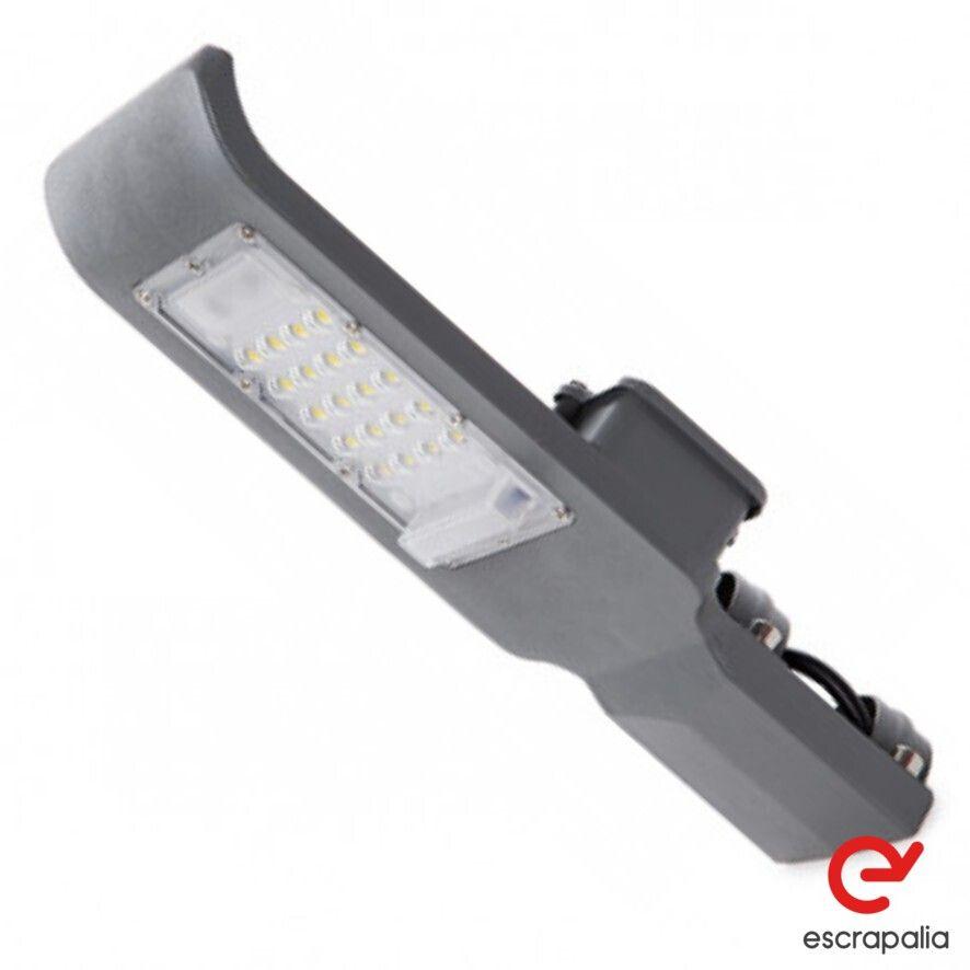 4 Uds LED Straßenleuchte 20W IP65 Straßenbeleuchtung (Neu)