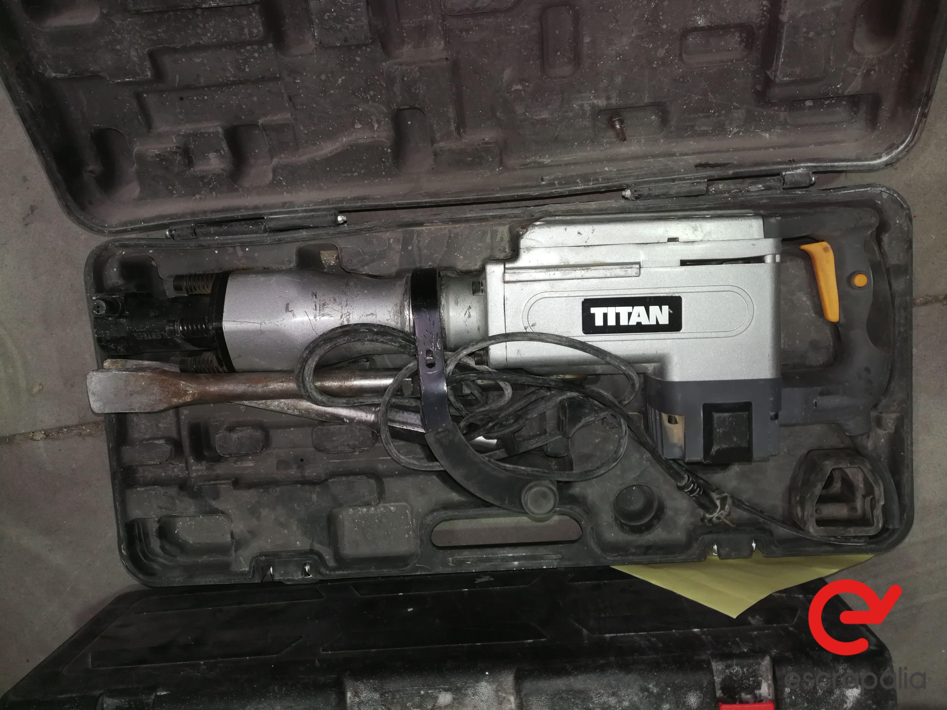 Elektrischer Hammer Titan TTB 280DRH. Los 040