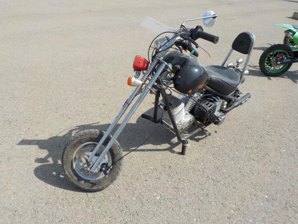 Benzin Mini Chopper Bike