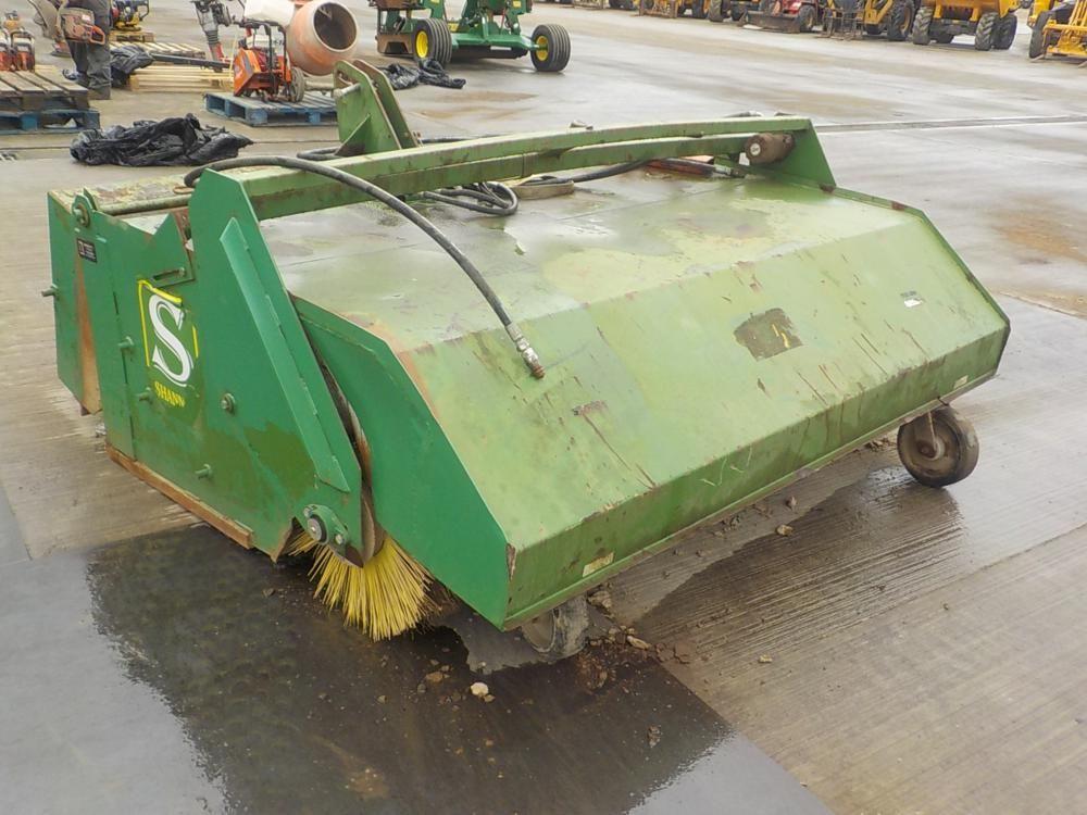 Gurney Reeve & Co Hydraulic Sweeper Collector für 3-Punkt-Gestänge
