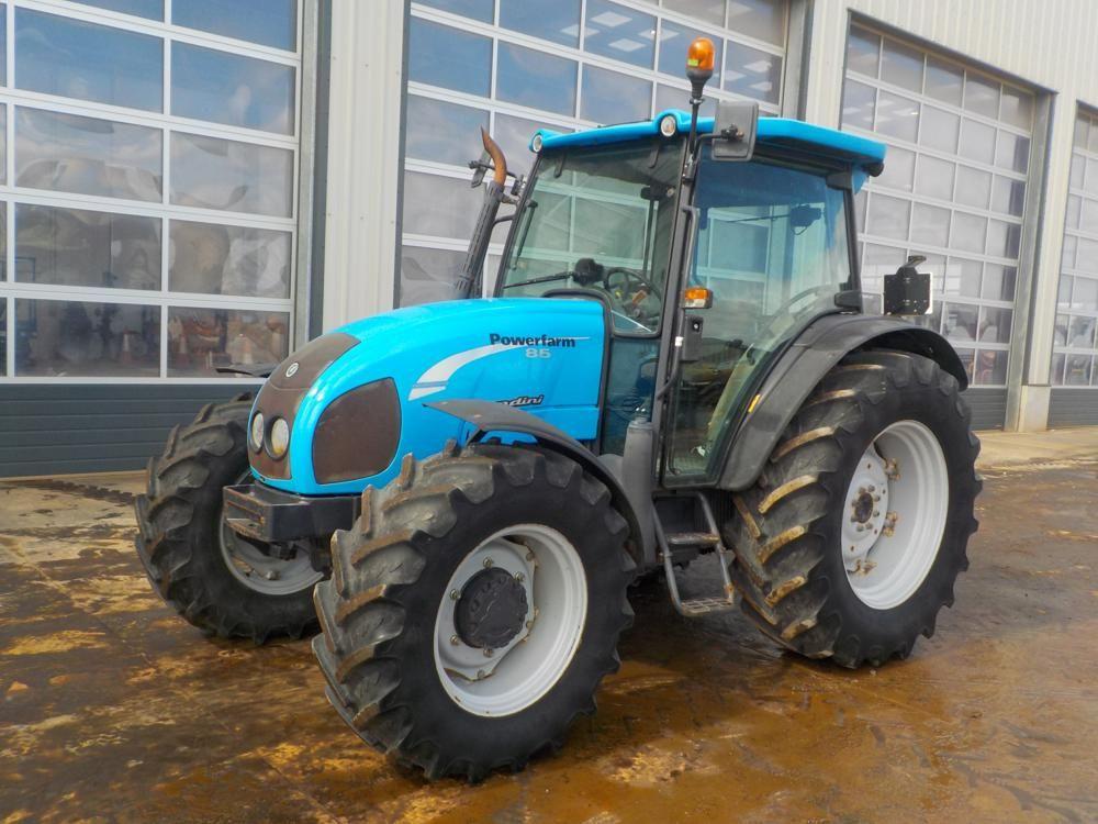 2008 Landini Powerfarm 85 4WD Traktor, 2 Steuerventile, A / C.