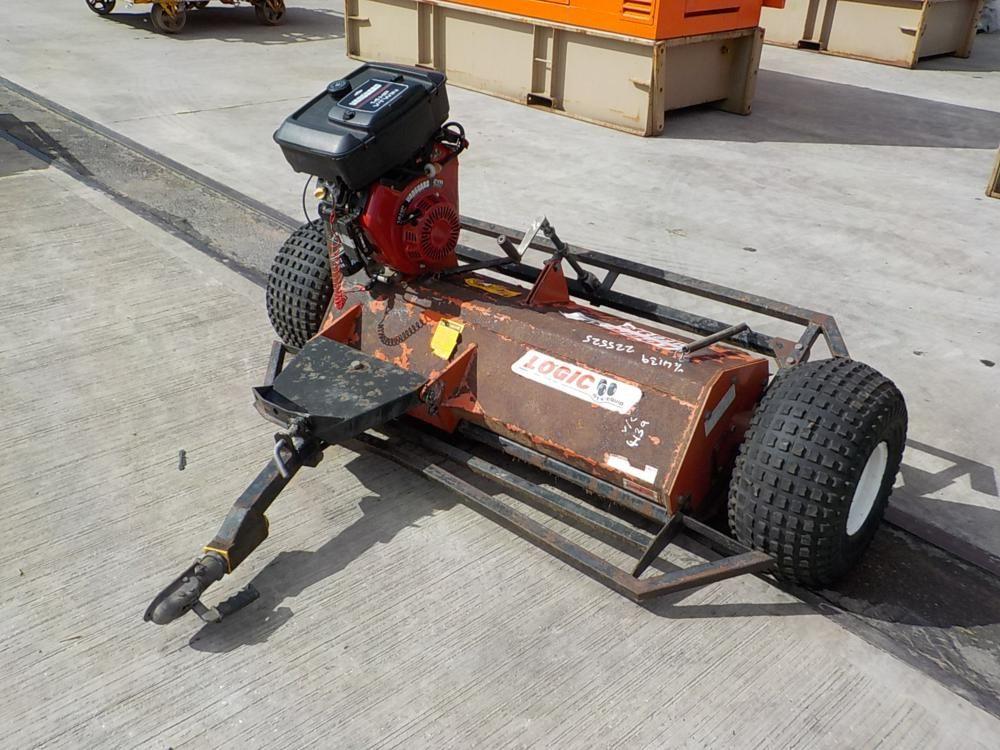 LOGIC MFG320 Einachsiger Schlegelmäher, Briggs & Stratton-Motor für Quad
