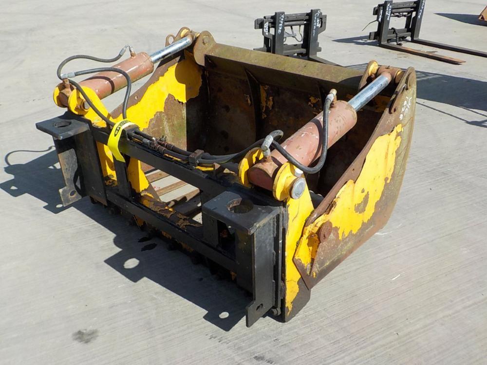 JCB Hydraulic Muck Grab passend zu Matbro Teleskoplader