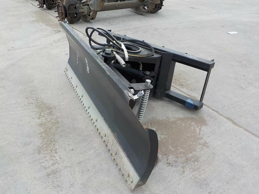 JCT Hydraulic Tilting Dozer Blade passend für Skidsteer Loader