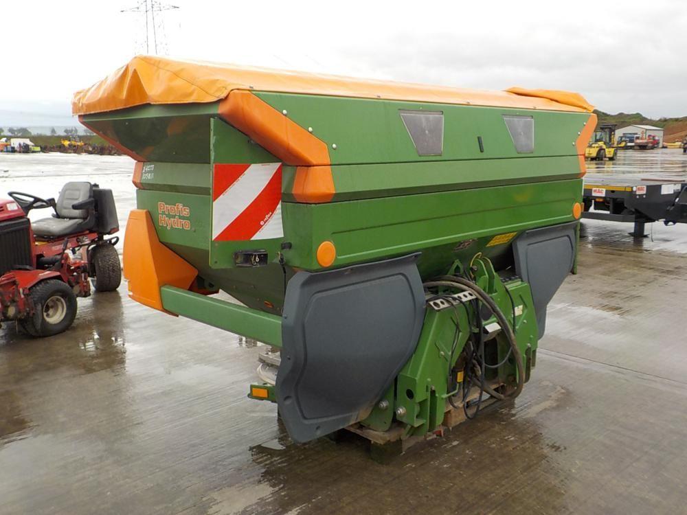 2013 Amazone ZA-M Profis Hydrohydraulisch angetriebener Düngerstreuer für 3-Punkt-Gestänge