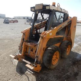 2007 Case 410 Skidsteer Loader, Piped - JAF00410N7M460372