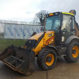 2010 JCB 3CX P21 Turbo Powershift Contractors Backhoe Loader, QH, Piped, SRS c/w Power Slide, 2 Buckets - HF10 CXS - JCB3CXCSE01620948