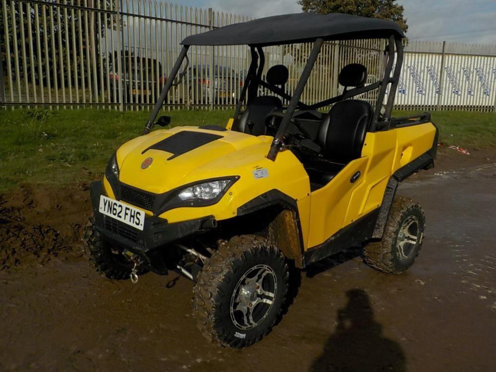 LOT # 0087 - 2012 X & Y 4WD Benzin-Nutzfahrzeug