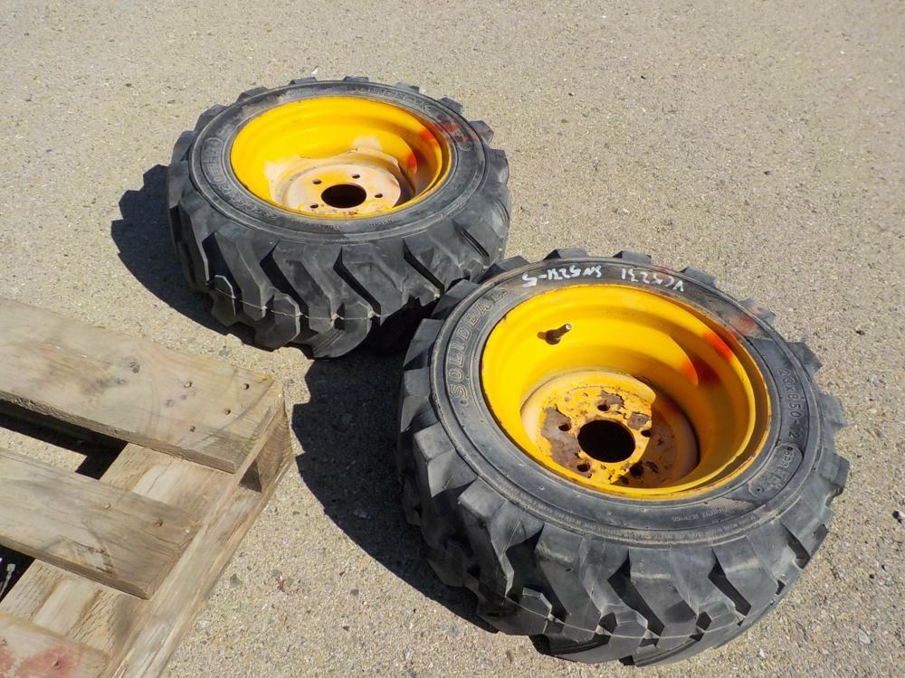 23 x 8,5 - 12 Reifen & amp; Felgen passend für JCB (2 von)
