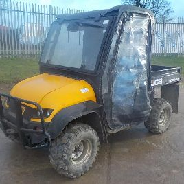 2012 JCB Workmax 4WD Diesel Utility Vehicle (Reg. Docs. Available) - YJ12 FVF - JCBWM4X4C01629730