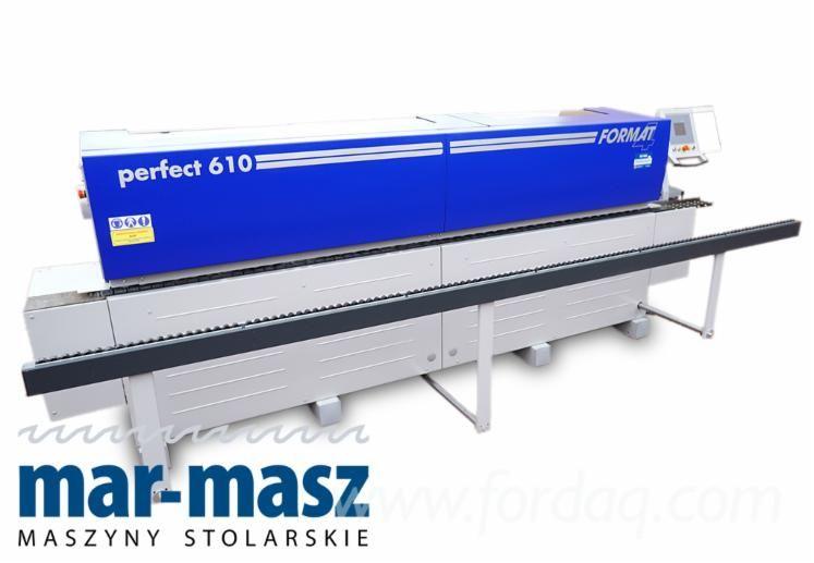 Gebrauchte Felder Kantenanleimer Format 4 Perfect 610, Laminator, Cyclone, Poliermaschine