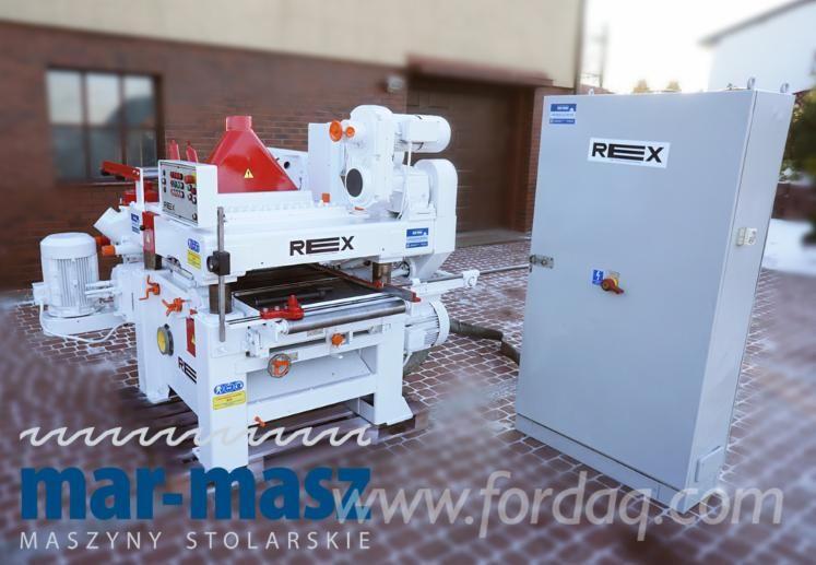Vierseitenhobelmaschine REX AE 5084, ideal für nasses Holz