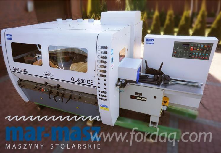 Gebraucht GAU JING GL-530 CE Vierseitenhobelmaschine