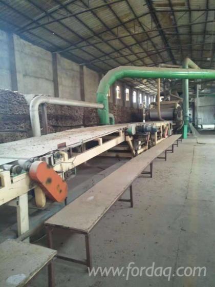 Gebrauchte MDF-Produktionslinie / gebrauchte Spanplattenproduktionslinie / gebrauchte Holzwerkstoffp