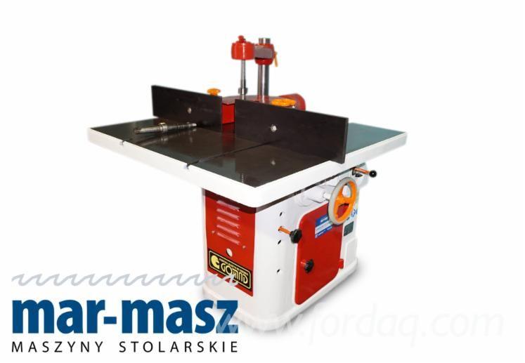 Tischfräse GOMAD FJN F, Holzfräsmaschine, Fräsen, Zusatzspindel.