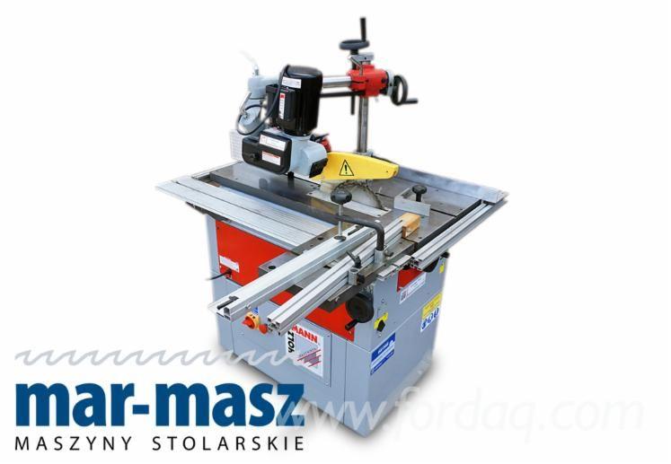 HOLZMANN KF 200 L Säge- und Fräsmaschine mit Vorschub, Kreissäge, Holzfräsmaschine