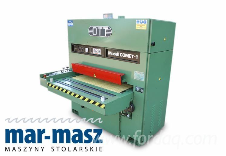 Breitbandschleifmaschine OTT COMET -1-1100, gebrauchte Schleifmaschine