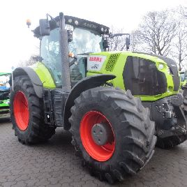 CLAAS AXION 830 CMATIC tracteur LU