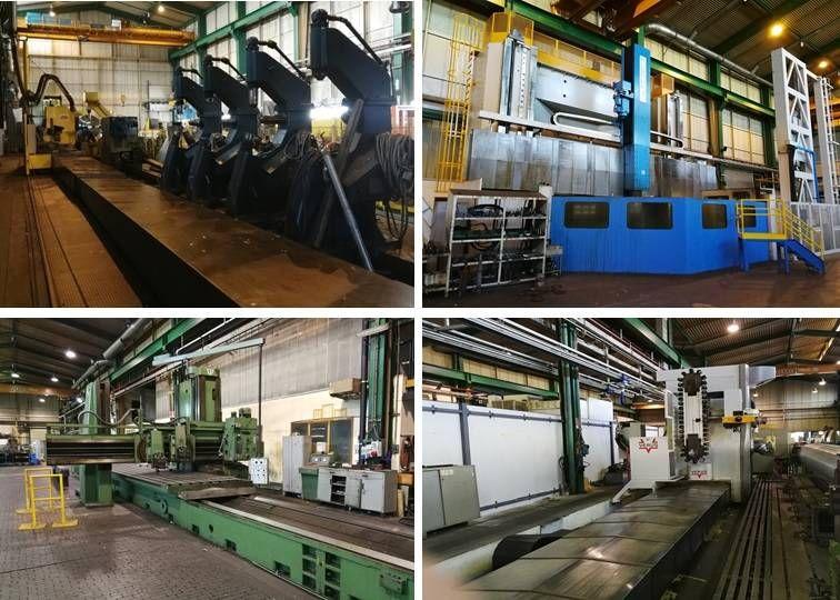 Verkauf eines Satzes von 33 Maschinen und Ausrüstungen aus dem Eigentum von PAPCEL, as