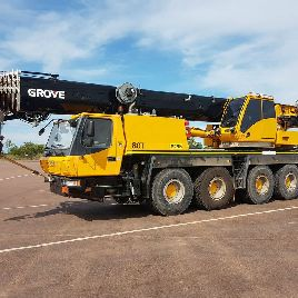 2008 GROVE GMK 4080-1 All Terrain Crane