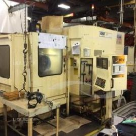 Cincinnati Milacron Mdl T-10 CNC Horizontal machining center, serial number 3621B1189-0073, unit is operational, New in ...