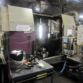 Okuma & Howa mod VTT-70 Twin Turret 4-axis CNC Vertical Turning Center, sn 70032 (Mfg 09/2006), Specifications: Max swin ...
