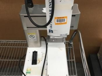 I & J Fisnar Modell 2200 Flüssigklebstoffspender, s / n 117002, 50/60 Hz, 200 W, 90-132 V., (Best.-N