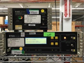 Polytec Modell CLV 700 Laser, s / n 6020078 w / Modell OFV-2601 Controller s / n 5020173 zu enthalte