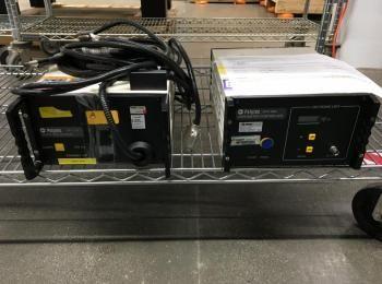 2 Stück Polytec Laser Equipment enthält: Modell OVF 518 Laser-RVA-Sensor, s / n 1 99 0207; Modell OF