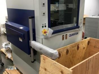 Nordson Asymtek Modell Q6820 Automatisches Flüssigkeits-Dispensersystem, s / n Q30038, Mfg. 2014, Ni