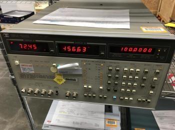 HP LF-Impedanzanalysator Modell 4192A, s / n 2150J00844, 5Hz-13MHz., (Asset ID 3409159)