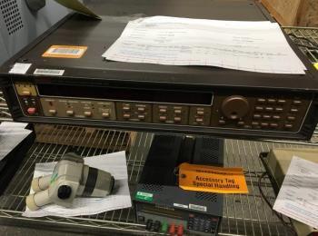 Keithley Modell 237 Hochspannungsquelle, Maßeinheit, s / n 530819, (Asset ID 3409141)