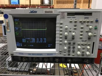 LeCroy Modell LC534L 1 GHz Oszilloskop, s / n LC53401377, Einzel 2 GS / S 8MPT, Quad 500MS / S 2MPT.