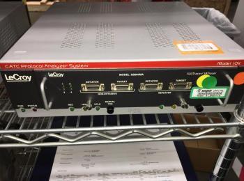 LeCroy Modell 10K FC003MA CATC 4G Protokoll Analysator, s / n 0000922, um Modell SS004MA SASTracer /