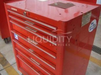 Snap-On Werkzeugkasten mit 7 Schubladen ohne Schlüssel. Maßeinheit: 27