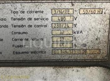 2001 Chiron VMC Modell FZ 15W Maschine. Seriennummer: 169-02. Internes Tag: 01-121-125. Dieses Gerät