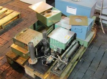 1ea. Leergewichttester für Paletten zur Aufnahme von 1ea. Ashcroft Modell 1305 Tragbares Gewichtstes