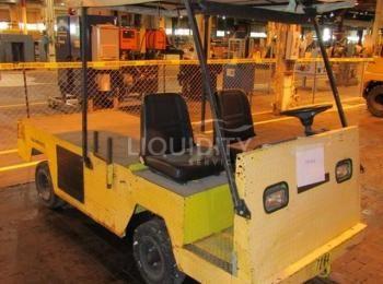 Elektroauto-Wagen des Typs Columbia, VIN B5LD4-4SE0406, Kapazität für 2 Personen, 45