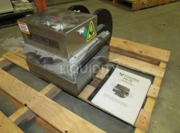 Thwing-Albert Mdl. 240-7B Alfa Cutter pneumatische Stanzpresse, SN-A615, 7-Ton-Kappe, 12x12In Schnei