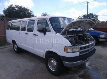 1996 Dodge Ram Van, Fahrgestellnummer # 2B5WB35Z5TK173103. Motor: 5,9L 8-Zyl., 2WD, Automatikgetrieb