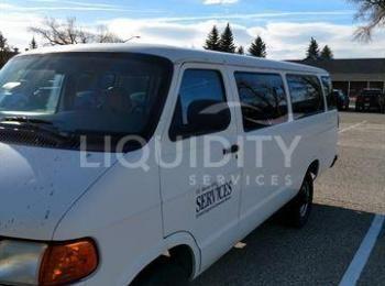 1998 Dodge Van, Fahrgestellnummer: 2B5WB35Z5WK112709, Ungefähr 53901 Meilen, Batterie leer, Batterie